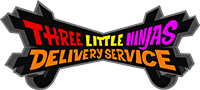 Three Little Ninjas Delivery Service